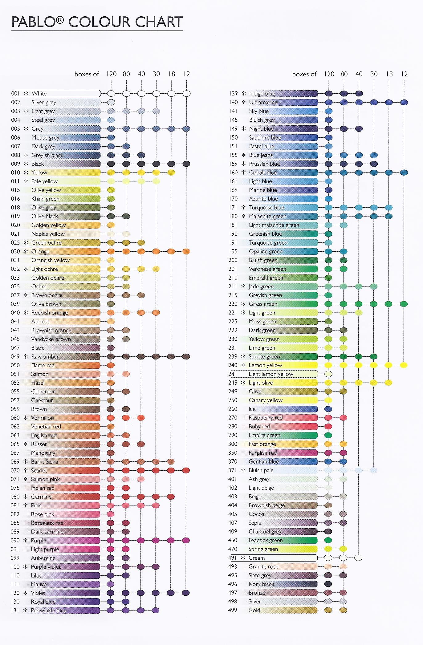 Index of color charts pablo cc 300dpig nvjuhfo Gallery
